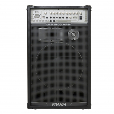 Caixa de Som Amplificada Multiuso Frahm - MP 5000 APP Bluetooth 2500W