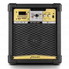 Caixa de Som Amplificada Multiuso Frahm - MF 200 APP Bluetooth 80W