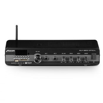 Amplificador - Receiver para Som Ambiente Frahm SLIM 2200 Optical G3 120W