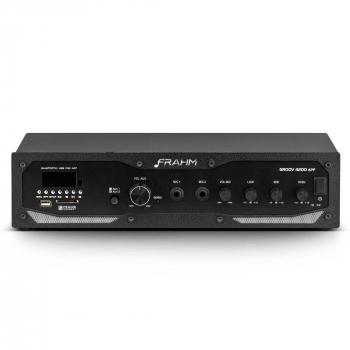 Amplificador - Receiver Profissional Frahm - GR 4200 APP Bluetooth 400W