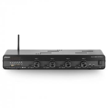 Amplificador Receiver para som ambiente Frahm SLIM 4500 Optical Bluetooth