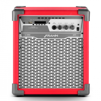 Caixa de Som Amplificada Multiuso - LC 250 APP Bluetooth 100W