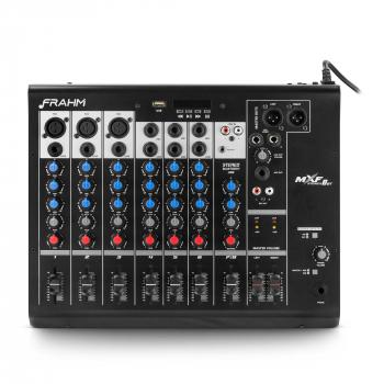 Mesa de Som Frahm - MXF 8 canais Bluetooth