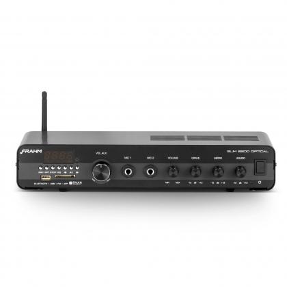 Amplificador - Receiver para Som Ambiente Frahm  SLIM 2200 Optical Bluetooth 120W